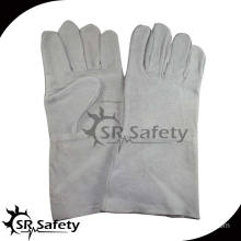 SRSAFETY longer industry leather welding gloves
