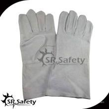 SRSAFETY более длинные промышленные кожаные перчатки для сварки