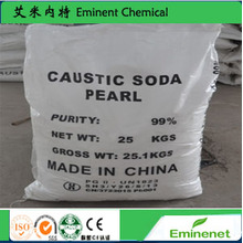 Textile Dyeing Chemicals 99% Caustic Soda Pearls (NaOH)