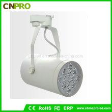 Weißes schwarzes Gehäuse 12W LED Schienen-Beleuchtung-Schienen-Lampe