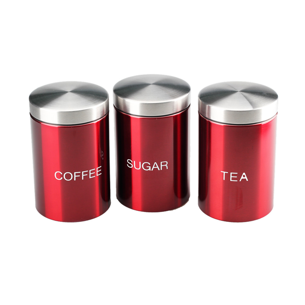 Three Sets Of Canister