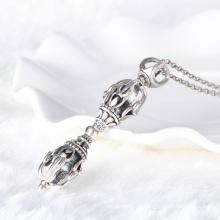 Colgante mágico de la varita mágica de la plata esterlina 925