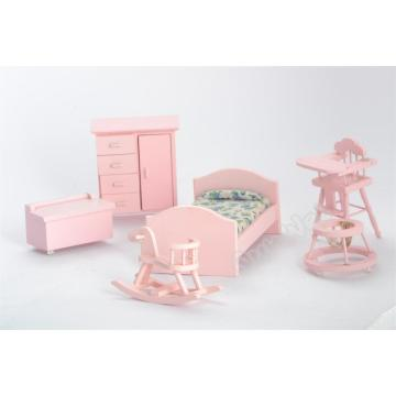1/12 dollhouse miniature bedroom set