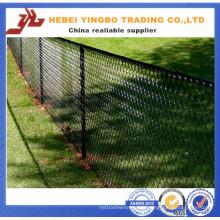 Yb-10 2016 nouveau prix bon marché PVC enduit clôture de chaîne de champ
