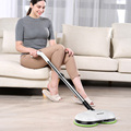 LIECTROUX F528A electric mop cleaner, water spray, polish and wax