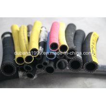 China Supplier Heat Resistant Hydraulic Rubber Hose /Steel Wired Spiral Rubber Hose