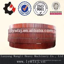 Forger le grand engrenage cylindrique