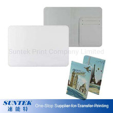Sublimation Leatherette Passport Holder Insert