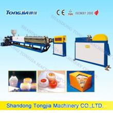 Tongjia Brand Foaming Machine--PE Foam Fruit Net Extruder