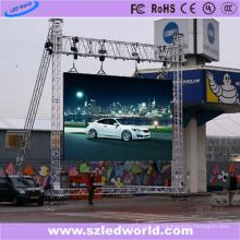 Прокат полного цвета p8 Открытый светодиодный экран (се ГЦК)