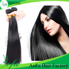 Cheap Virgin Brazilian Virgin Hair Straight Human Hair Extension