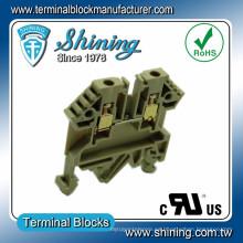 TF-2.5 UL aprobado 17A 2.5mm Entrelec Bloque de terminales de paso