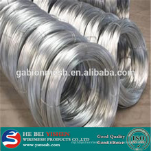 low price electro galvanized iron wire (manufacture)