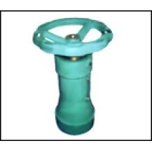 Operadores de caixa de engrenagens de estilo vertical de engrenagem de parafuso para Válvula Borboleta