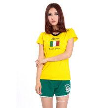 2016 New Design Werbung Frauen Sport T-Shirt