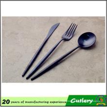 Elegante Cuchillo de acero inoxidable Tenedor Cuchara Vajilla Cubiertos Cubiertos