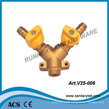 Brass Forged Y Type Gas Ball Valve (V25-006)