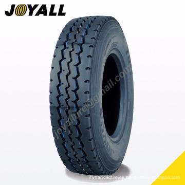 JOYALL fábrica china TBR neumático B875 super sobre carga y resistencia a la abrasión 11r22.5 para su camión