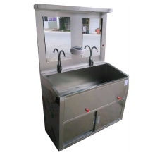 Undermount Bathroom Double Wash Basin Surgical Sink Stainless Steel Thickness 1.2 Cm Modern Hospital 2 Years Drainer