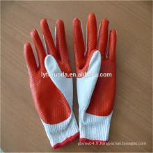 FURUNDA gants de coton travaillé en caoutchouc de haute qualité
