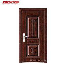 TPS-122 fábrica de la venta caliente de acero puerta exterior para venta por mayor