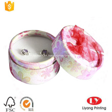 cylinder ear stud earring jewelry paper box