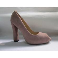 Fashion Peep Toe Ladies Sandals (HCY03-015)