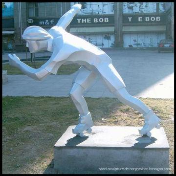 Figur aus Edelstahl Skulptur