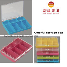 6 Красочные Пластиковые Коробки Отсека