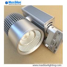20W 30W 35W 45W Silver Furnish European Standard LED Track Spot Lighting