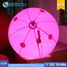 Globos grandes personalizados del PVC del helio RC del LED Globos inflables de la publicidad de los globos