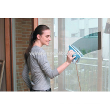 Versatile Adjustable Magnetic Double sided Glass Cleaner Yellow And Blue