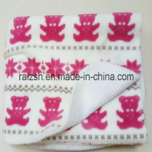 Oeko-Tex 100 Approved Printed Fleece Blanket for All Seasons