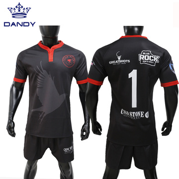 Anpassad design Digital Printing Sublimation Rugby Jersey
