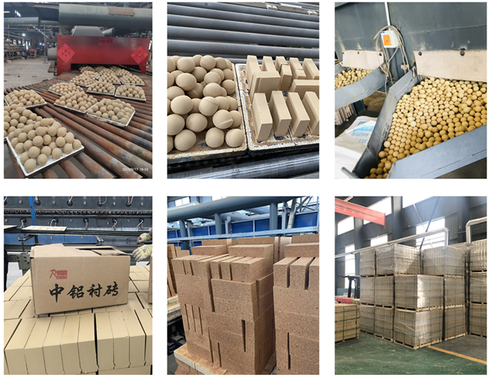 Alumina Lining Brick for Grinding Mill