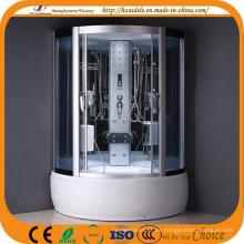 Sala de ducha de cristal de vidrio templado de alta bandeja (ADL-8322)