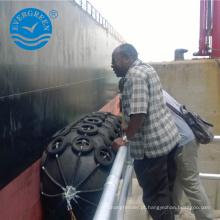 grandes instalações de portos pára-choque de borracha de barco pneumático Yokohama pára-choque