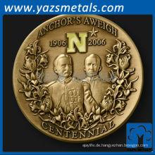 Gewohnheit Metall Anchor Aweigh Herausforderung Münze