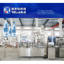 Máquina de llenado de agua alcalina automática completa de la botella del animal doméstico