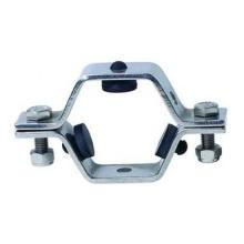 Titulares de tubos de aço inoxidável hexagonal