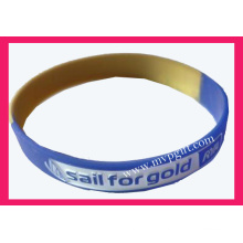 Plastic Wristband with Debossed Logo (m-WB01)