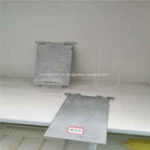 Placa de aluminio no contaminante para batería de aire de aluminio