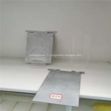 Plaque en aluminium non polluante pour batterie à air en aluminium