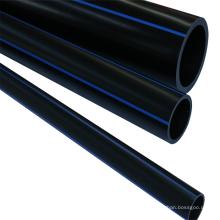 New materials 200mm black plastic water pe pipe tubing