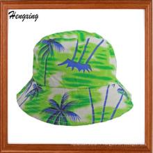 Chapeau de seau de modèle de coton de Hawaï de mode