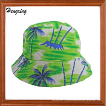Fashion Cotton Hawaii Pattern Bucket Hat