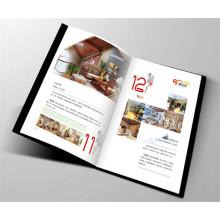 Folheto de Impressão de Revista de Quatro Cores Impresso em Catálogo Personalizado