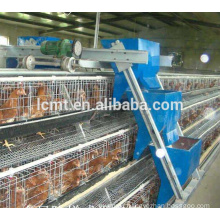 3-tier layer poultry cages for zambia chicken farm