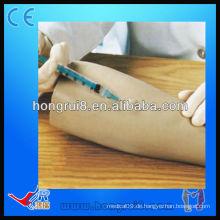 Fortgeschrittene lebensgroße Kunststoff medizinische intradermale Injektion Training Arm Mannequin Arm