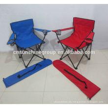 venta caliente 2014 camping silla colorida, camping silla resto del pie